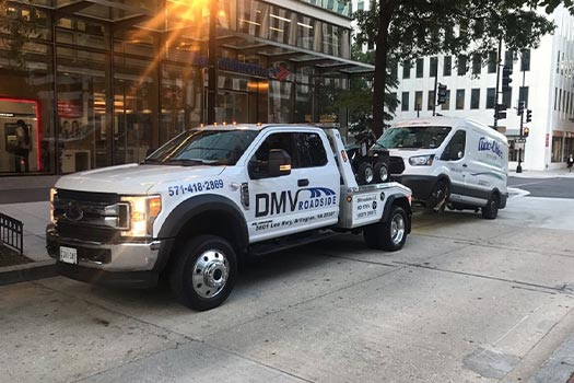 medium duty towing in arlington va