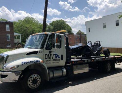 Truck Towing in Franconia Virginia